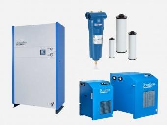 Sortiment Drucklufttechnik Aufbereitung