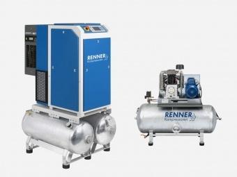 Sortiment Drucklufttechnik Kompressoren Renner