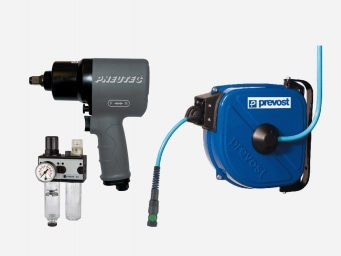 Sortiment Drucklufttechnik Druckluftwerkzeuge und Zubehör