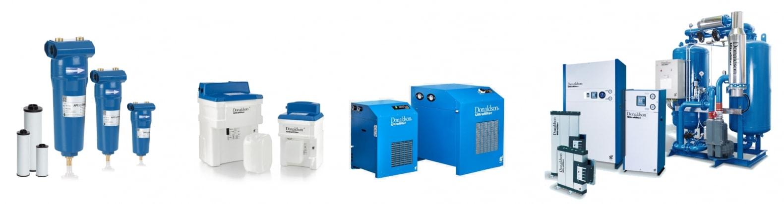Boos Drucklufttechnik - Sortiment Druckluftaufbereitung