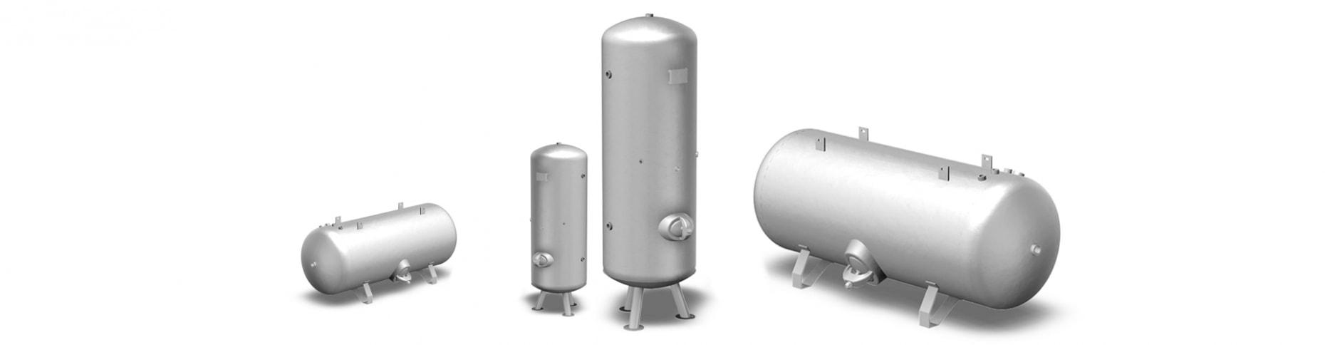 Boos Drucklufttechnik - Sortiment Druckluftbehälter
