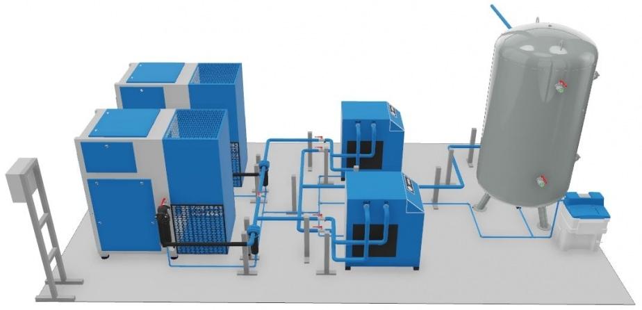 Druckluftanalyse - Effizienz Kosten Sparen Probleme erkennen Abfall Leck Hilfe